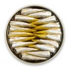 Petites sardines à l'Huile d'Olive Piquante