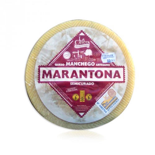 Manchego Marantona Semicurado - El initio (3 Kg.)
