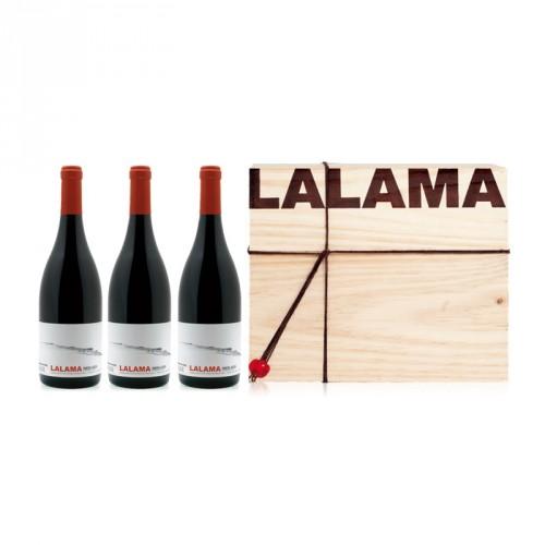 Caisse de 3 bouteilles LALAMA 2010