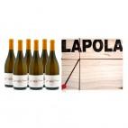 Coffret de 6 bouteilles LAPOLA 2012