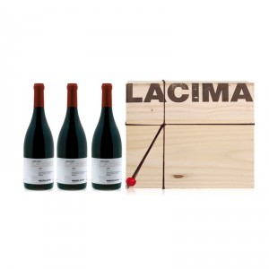 3 bottles case LACIMA 2010