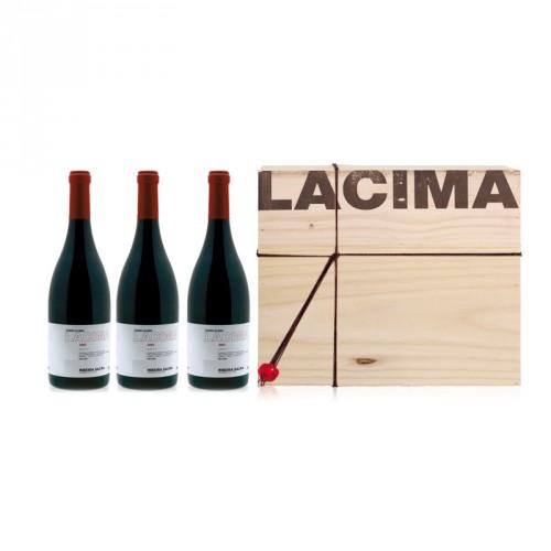 Caja 3 botellas LACIMA 2010