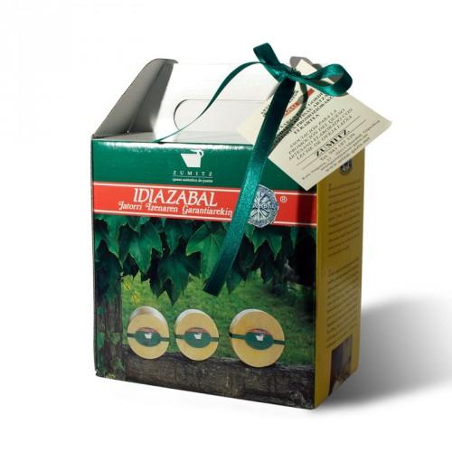 Queso Aizpea Zumitz Natural (Etiqueta Verde)