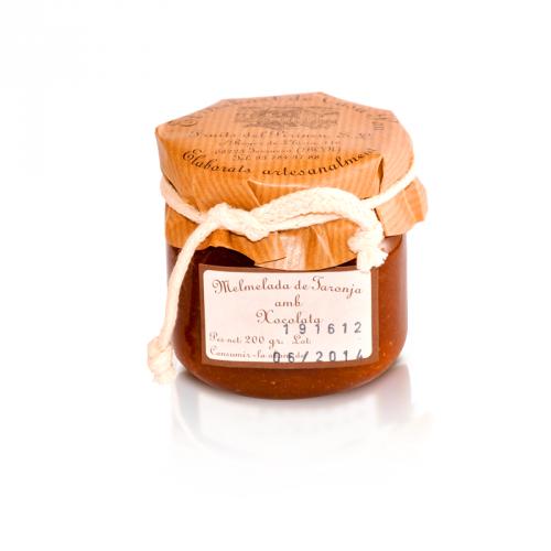 Mermelada de Naranja y Chocolate del Pirineo
