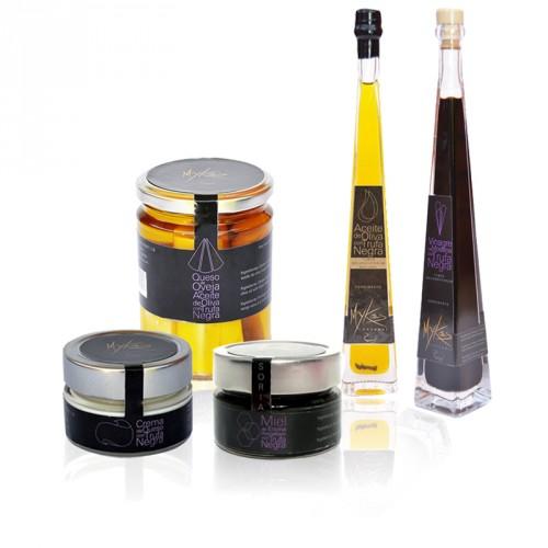 Sélection de produits à la truffe noire