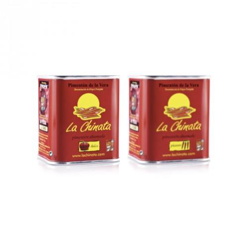 Pack Inicio Pimentón Ahumado Dulce + Picante