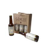 Cerveza artesanal Gènesis Mediterránea Pack