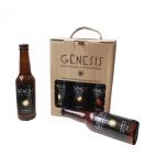 Cerveza artesanal Gènesis Taronja pack