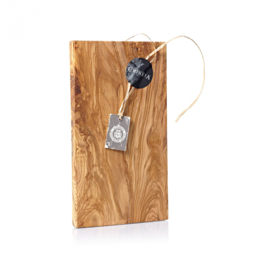 Tabla artesanal de madera de olivo