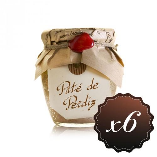 Paté de Perdiz Roja de Toledo (pack de 6)
