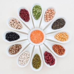 Sélection de légumes secs Montes